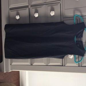 J. Crew Black Shift Dress